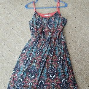 Maurices Paisley Tank Dress